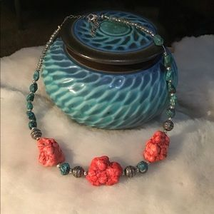Artisan Turquoise Necklace